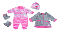 Baby Annabell Deluxe Set Cold Days Set di vestiti per bambola