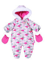 Baby Annabell Deluxe Set Winter Fun Doll jumpsuit