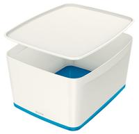 Leitz MyBox Storage tray Rectangular Acrylonitrile butadiene styrene (ABS) Blue, White