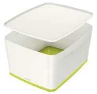 Leitz MyBox Storage tray Rectangular Acrylonitrile butadiene styrene (ABS) Green, White