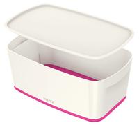 Leitz MyBox Storage tray Rectangular ABS synthetics Pink, White