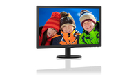 MONITOR LED 23,6'' PHILIPS 243V5QHABA/00 CON SMART CONTROL LITE