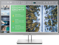 "HP EliteDisplay DISPLAY BUNDEL 5 UNITS E243 23.8"" Full HD LED Piatto Nero, Argento monitor piatto per PC"