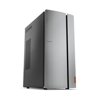 Lenovo IdeaCentre 720 3.9GHz i3-7100 Torre Nero, Argento PC
