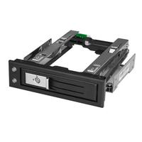 "StarTech.com 5.25 to 3.5 Hard Drive Hot Swap Bay - For 3.5"" SATA/SAS Drives - Trayless"