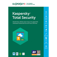 SW KASPERSKY TOTAL SECURITY 1USER 2DEVICE