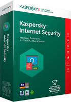 SW KASPERSKY INTERNET SECURITY 2018 3PC