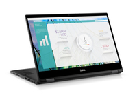 "DELL Latitude 7389 2.8GHz i7-7600U 13.3"" 1920 x 1080Pixel Touch screen Nero Ibrido (2 in 1)"