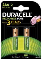 Pile Duracell Ricaricabile ministilo AAA - conf.2