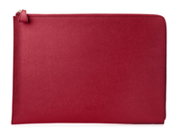 "HP Spectre 13.3"" Split Leather Sleeve 13.3"" Custodia a tasca Rosso"