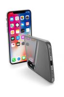 CUSTODIA PER APPLE IPHONE X ULTRASOTTILE CELLULAR LINE ZEROIPH8T CLEAR