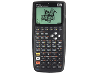 HP 50g Graphing Calculator Tasca Calcolatrice scientifica Nero