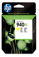 HP 940XL Yellow Officejet Ink Cartridge Giallo cartuccia d