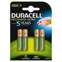 Pile Duracell Ricaricabile ministilo AAA - conf. 4