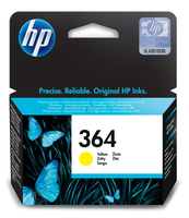 HP 364 Yellow Ink Cartridge Giallo cartuccia d