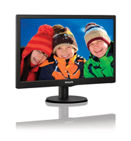 "Philips 193V5LHSB2/77 18.5"" HD LCD/TFT Nero Piatto monitor piatto per PC"