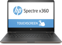 "HP Spectre x360 15-bl100nf 1.80GHz i7-8550U 15.6"" 3840 x 2160Pixel Touch screen Nero, Rame, Argento Ibrido (2 in 1)"
