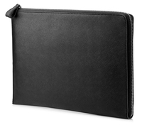 "HP Elite 12.5 Black Leather Sleeve 12.5"" Custodia a tasca Nero"