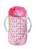 BABY born 2in1 Sleeping Bag or Carrier Sacco a pelo per bambola