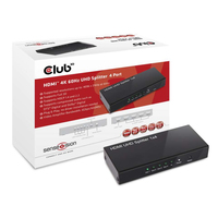 CLUB3D HDMI 2.0 UHD Splitter 4 Ports