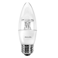 Philips 046677461928 4.5W E26 Bianco morbido lampada LED energy-saving lamp