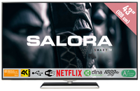 "Salora 43UHX4500 43"" 4K Ultra HD Smart TV Wi-Fi Nero LED TV"