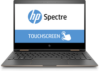 "HP Spectre x360 13-ae050ca 1.8GHz i7-8550U 13.3"" 1920 x 1080Pixel Touch screen Nero, Rame, Argento Ibrido (2 in 1)"