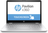 "HP Pavilion x360 14-ba102nf 1.60GHz i5-8250U 14"" 1920 x 1080Pixel Touch screen Argento Ibrido (2 in 1)"