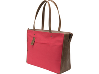 "HP 15.6 Red Canvas Tote 15.6"" Ventriquattore da donna Marrone, Rosso"