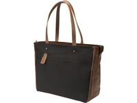 "HP 15.6 Black Canvas Tote 15.6"" Nero, Marrone"