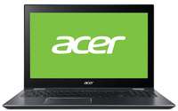 "Acer Spin SP515-51N-801H 1.8GHz i7-8550U 15.6"" 1920 x 1080Pixel Touch screen Grigio Ibrido (2 in 1)"