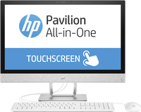 "HP Pavilion 24-r023nz 3.4GHz i3-7100T 23.8"" 1920 x 1080Pixel Touch screen Bianco PC All-in-one"