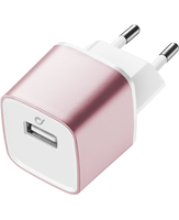 Cellularline Apple Caricabatterie da rete USB per dispositivi Apple Rosa