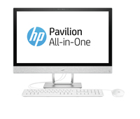"HP Pavilion 24-r044ur 3.4GHz i3-7100T 23.8"" 1920 x 1080Pixel Bianco PC All-in-one"