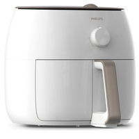 Philips Avance Collection HD9630 Doppia Indipendente Hot air fryer 1725W Bianco