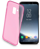 Cellularline Color Case - Galaxy A3 (2018) Custodie colorate e ultrasottili Rosa
