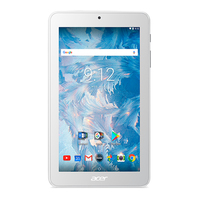 Acer Iconia B1-7A0 16GB Bianco tablet