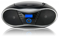 Bigben Interactive CD 58 NMP 3 USB Digitale 8W Nero radio CD