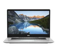 "DELL Inspiron 7570 1.6GHz i5-8250U 15.6"" 1920 x 1080Pixel Touch screen Platino, Argento Computer portatile"