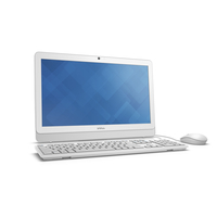 "DELL Inspiron 3059 2.3GHz i3-6100U 19.5"" 1600 x 900Pixel Argento, Bianco PC All-in-one"