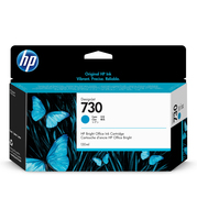 HP 730 130-ml Cyan DesignJet 130ml Ciano cartuccia d
