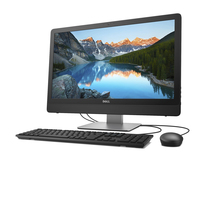 "DELL Inspiron 3464 3.9GHz i3-7100 23.8"" 1920 x 1080Pixel Nero, Argento PC All-in-one"