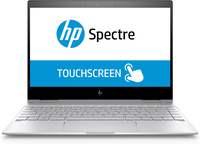 "HP Spectre x360 13-ae009nf 1.80GHz i7-8550U 13.3"" 3840 x 2160Pixel Touch screen Argento Ibrido (2 in 1)"