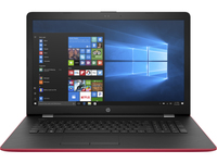 "HP 17-bs081nf 1.6GHz N3060 17.3"" 1600 x 900Pixel Nero, Rosso Computer portatile"