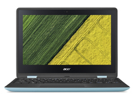 "Acer Spin SP111-31-C6YL 1.1GHz N3350 11.6"" 1920 x 1080Pixel Touch screen Nero, Blu Ibrido (2 in 1)"