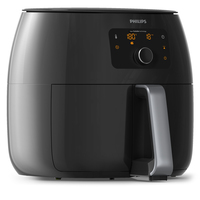 Philips Avance Collection HD9654 Doppia Indipendente Hot air fryer 2225W Nero