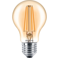Philips Classic 8718696709566 7.5W E27 A+ Oro lampada LED energy-saving lamp