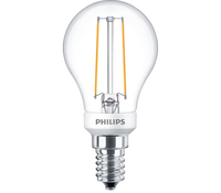 Philips Classic 8718696709863 2.7W E14 A++ Bianco caldo lampada LED energy-saving lamp