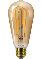 Philips Classic 8718696744130 5W E27 A Oro lampada LED energy-saving lamp
