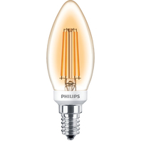 Philips Classic 8718696750841 5W E14 A+ Oro lampada LED energy-saving lamp